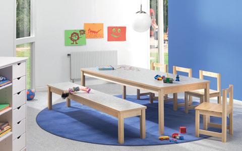 Lärande miljö Tibro Möbelindustri Interiör